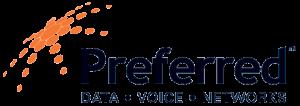Preferred Data Voice Networks Logo